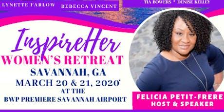 InspireHer Women's Retreat  tickets