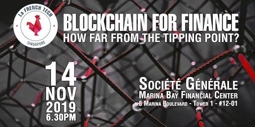 Blockchain For Finance x French Tech Singapore & Société Générale