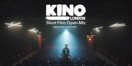 Kino Short Film Open Mic tickets
