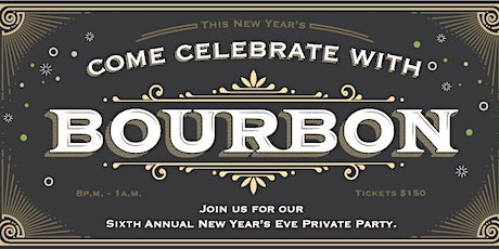 2019 Bourbon's New Year's Eve Party tickets
