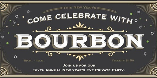 2019 Bourbon's New Year's Eve Party