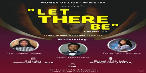 WOMEN OF LIGHT: LET THERE BE