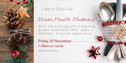 Meal & Meditation Winter Delight