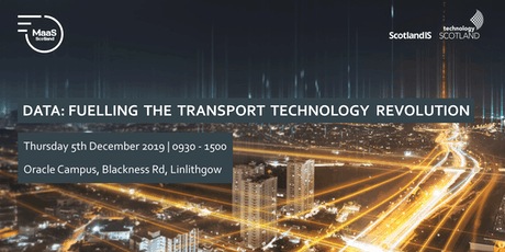 Data: Fuelling the Transport Technology Revolution tickets