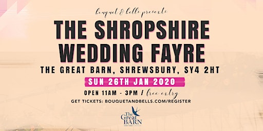 The Shropshire Wedding Fayre at The Great Barn