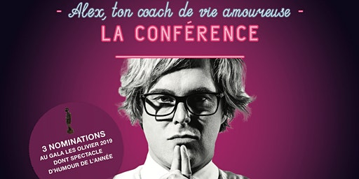 Alex Perron - ton coach de vie amoureuse – la conférence