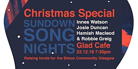 Sundown Song Nights Charity Christmas tickets