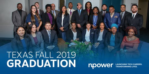 NPower Texas Fall 2019 Graduation