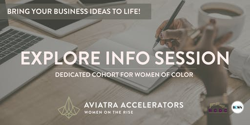 Explore Cohort for Women of Color  -  Info Session