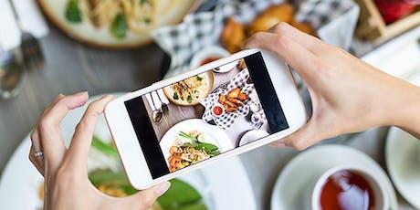 Foodfotografie met je smartphone tickets