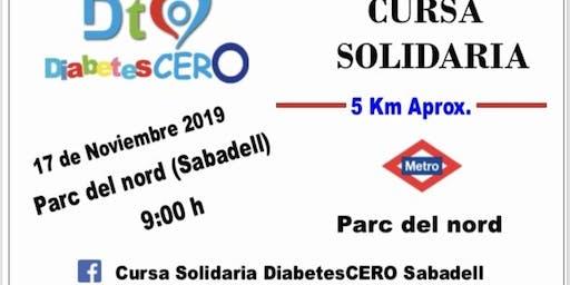 Cursa Solidaria DiabetesCERO Sabadell