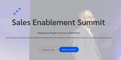 Sales Enablement Summit | Singapore