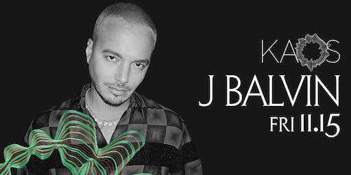 KAOS Nightclub w/J BALVIN