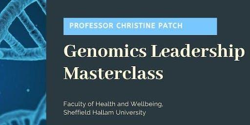 Genomics Leadership Masterclass