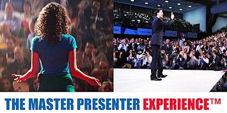 MASTER PRESENTER EXPERIENCE - ZURICH tickets
