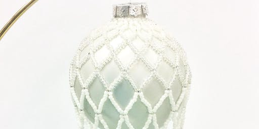 Netted Ornament Cover - Holiday DIY