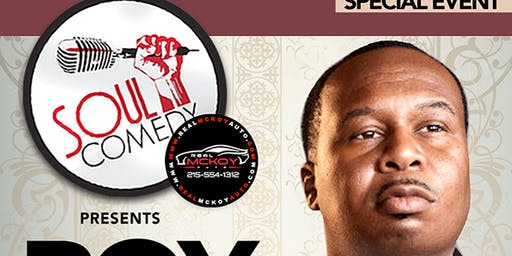 @SoulComedy starring ROY WOOD JR! 11.13.19!