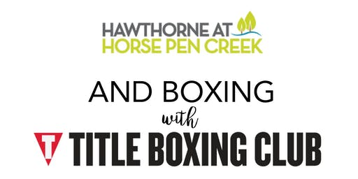 TITLE Boxing Club Pop-Up