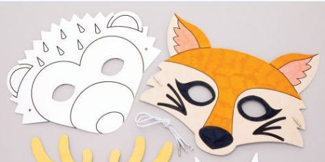 Woodland Animal Masks @ Chingford Library