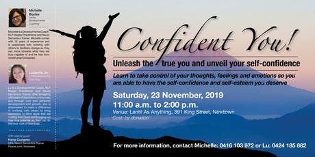 Confident You! tickets