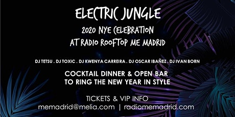 ELECTRIC JUNGLE NYE 2020 AT RADIO ROOFTOP entradas
