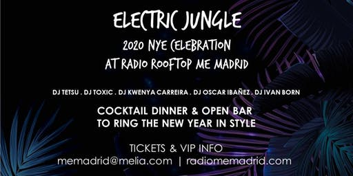 ELECTRIC JUNGLE NYE 2020 AT RADIO ROOFTOP