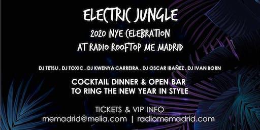ELECTRIC JUNGLE NYE 2020 AT RADIO ROOFTOP