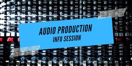 Audio Production Info Session (en Français)