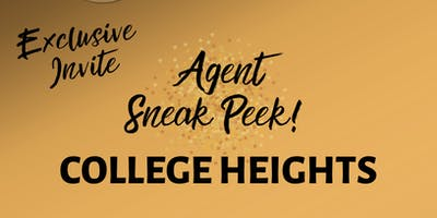 College Heights Agent Sneak Peek Event!