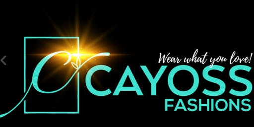 Cayoss Fashions Website Launch Party & Shopping Event!!!