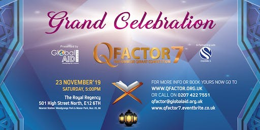Q Factor 7 2019, Grand Celebration and Gala Dinner