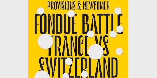 Fondue Battle: France vs Switzerland