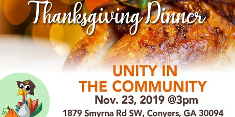 Unity in the Community Dinner tickets