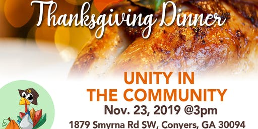 Unity in the Community Dinner