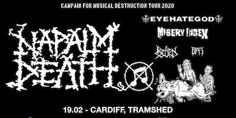 Napalm Death plus Eyehategod, Misery Index + more (Tramshed, Cardiff)