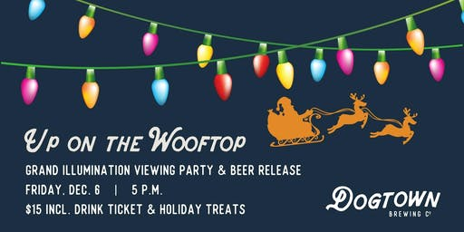 Up on the Wooftop Grand Illumination Viewing Party, Beer Release