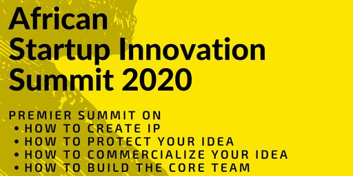 African StartUp Innovation Summit 2020