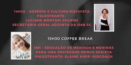 XIV Encontro Feminino Jaraguaense - #NÃO A VIOLÊNCIA CONTRA A MULHER bilhetes