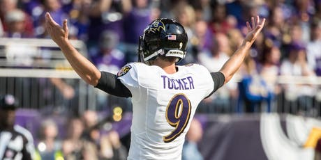 The Justin Tucker Experience- VIP Signature Event tickets