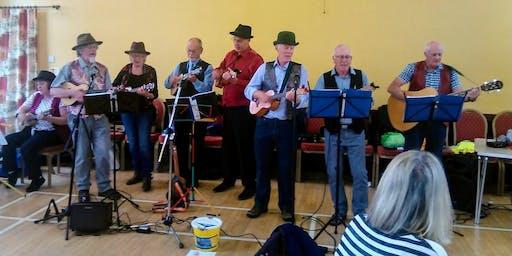 Christmas Celebrations with Sandstones Ukulele Band (Bolton le Sands) #xmasfun