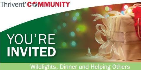 Zoo Wildlights, Dinner and Fundraiser 2019
