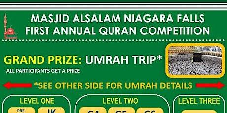 MASJID ALSALAM QURAN COMPETITION 2019 tickets