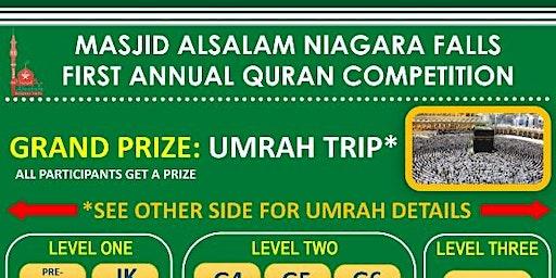 MASJID ALSALAM QURAN COMPETITION 2019
