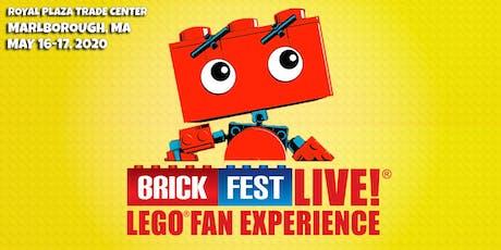Brick Fest Live LEGO® Fan Experience (Marlborough, MA) tickets