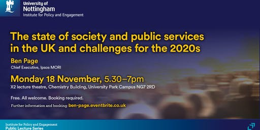 The state of society and public services in the UK&challenges for the 2020s
