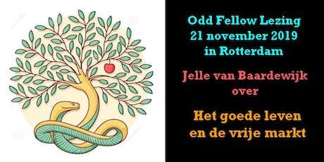 Jelle van Baardewijk in Odd Fellow Lezing tickets