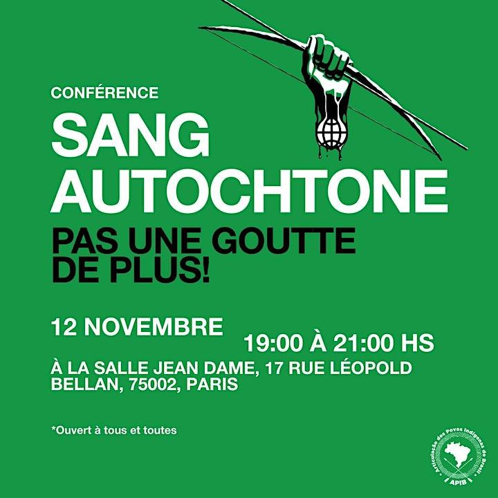 Image pour Conférence - Sang Autochtone: pas une goutte de plus!