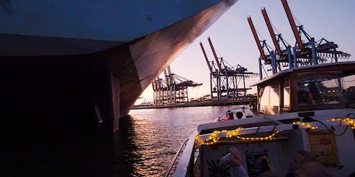 Fotoworkshop auf der Barkasse - auf der Elbe durch den Hamburger Hafen