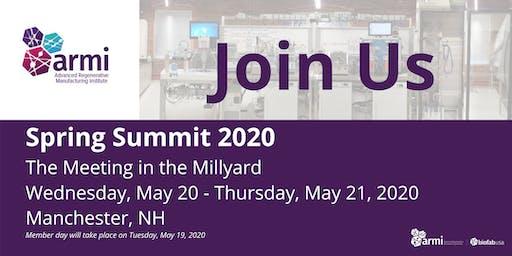 2020 ARMI   BioFabUSA Spring Summit: Exhibit & Sponsorship Registration
