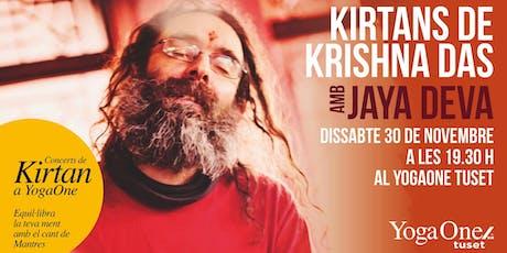 Kirtans de Krishna Das con Jaya Deva entradas